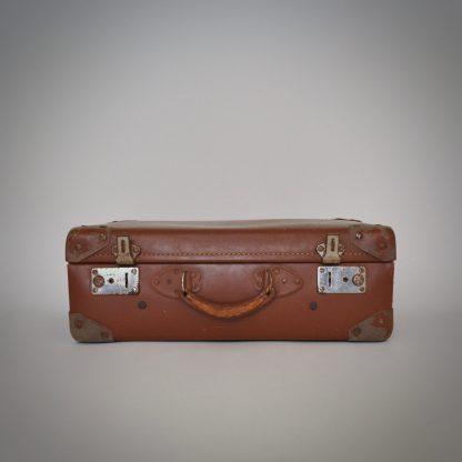 Vintage Koffer Cognac uit Frankrijk