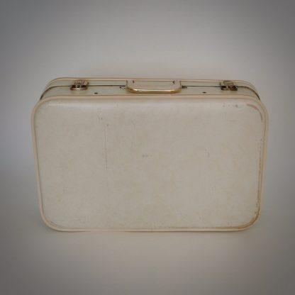 goud witte dameskoffer