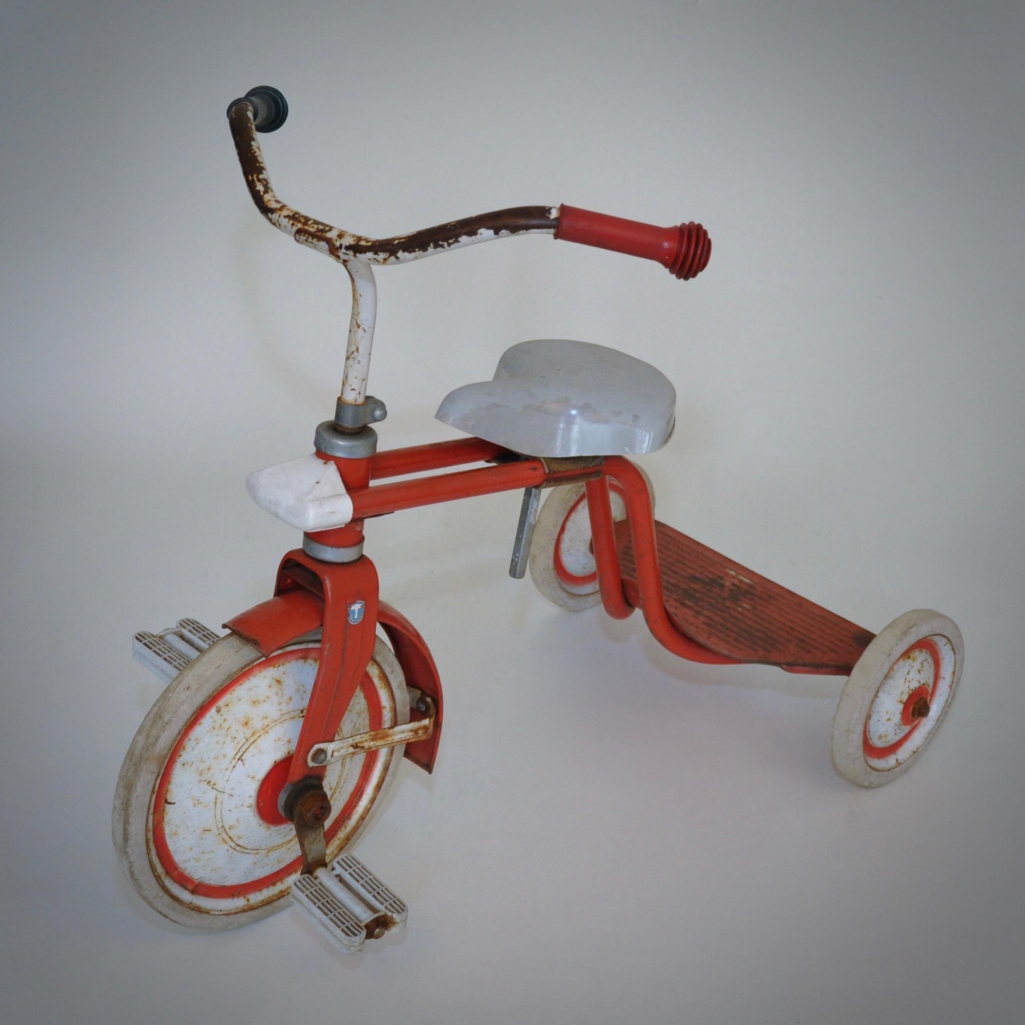 ketsch vintage kinderfiets driewieler