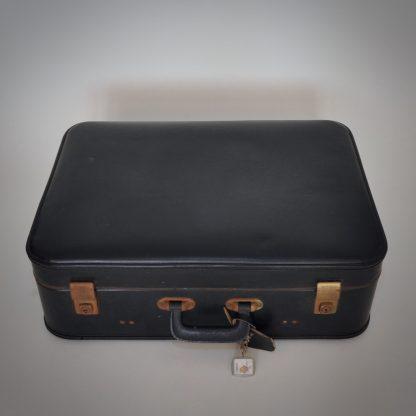 Fraaie koffer uit België in goede vintage conditie