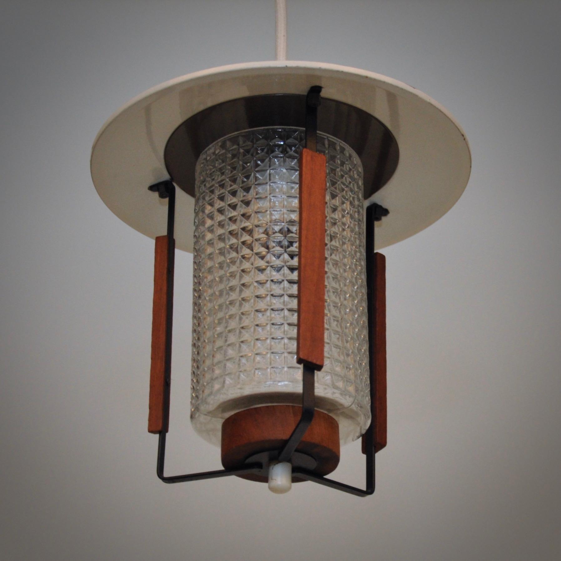 Deens ontwerp vintage hanglamp met fraaie details