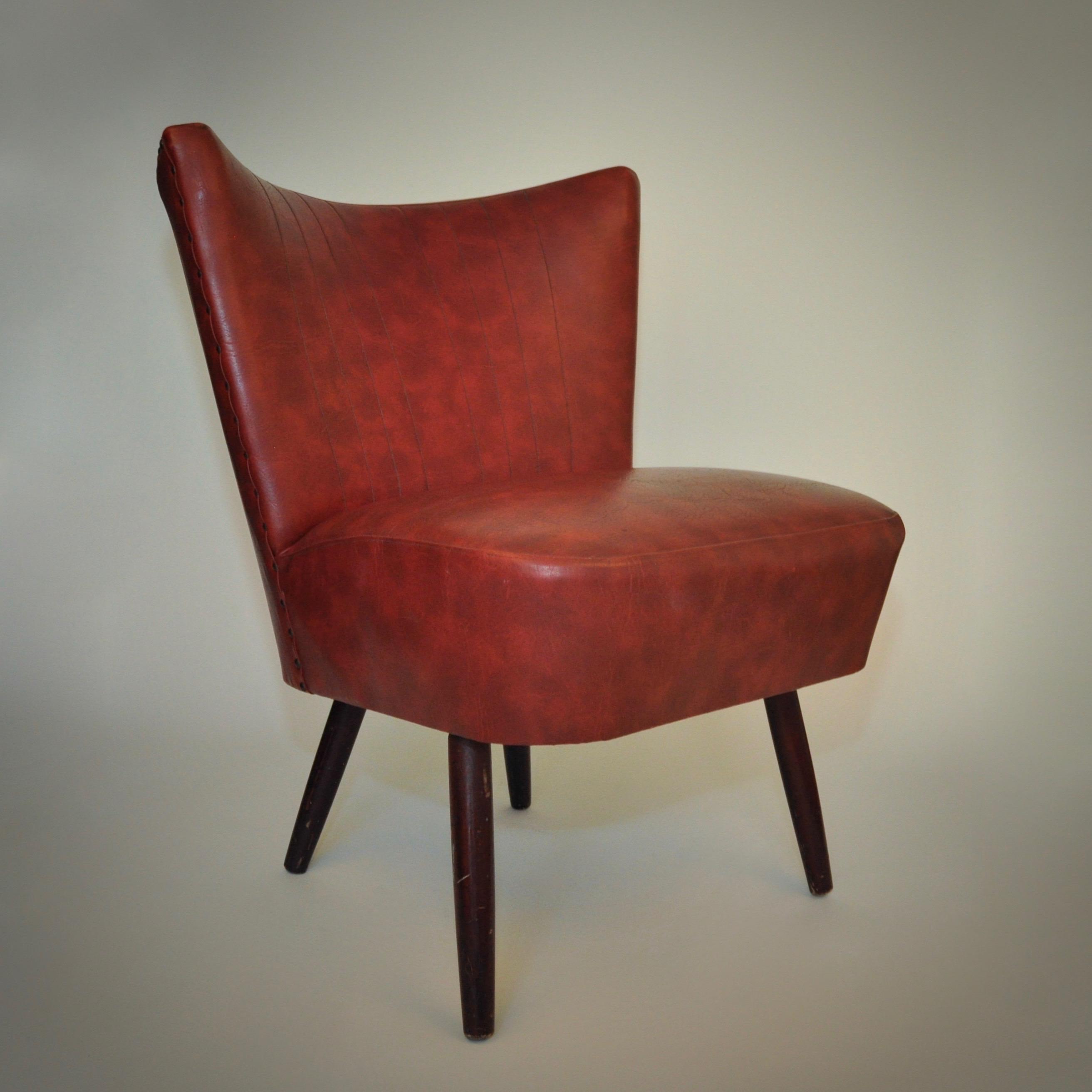 Chique cocktailstoel uit de jaren 70