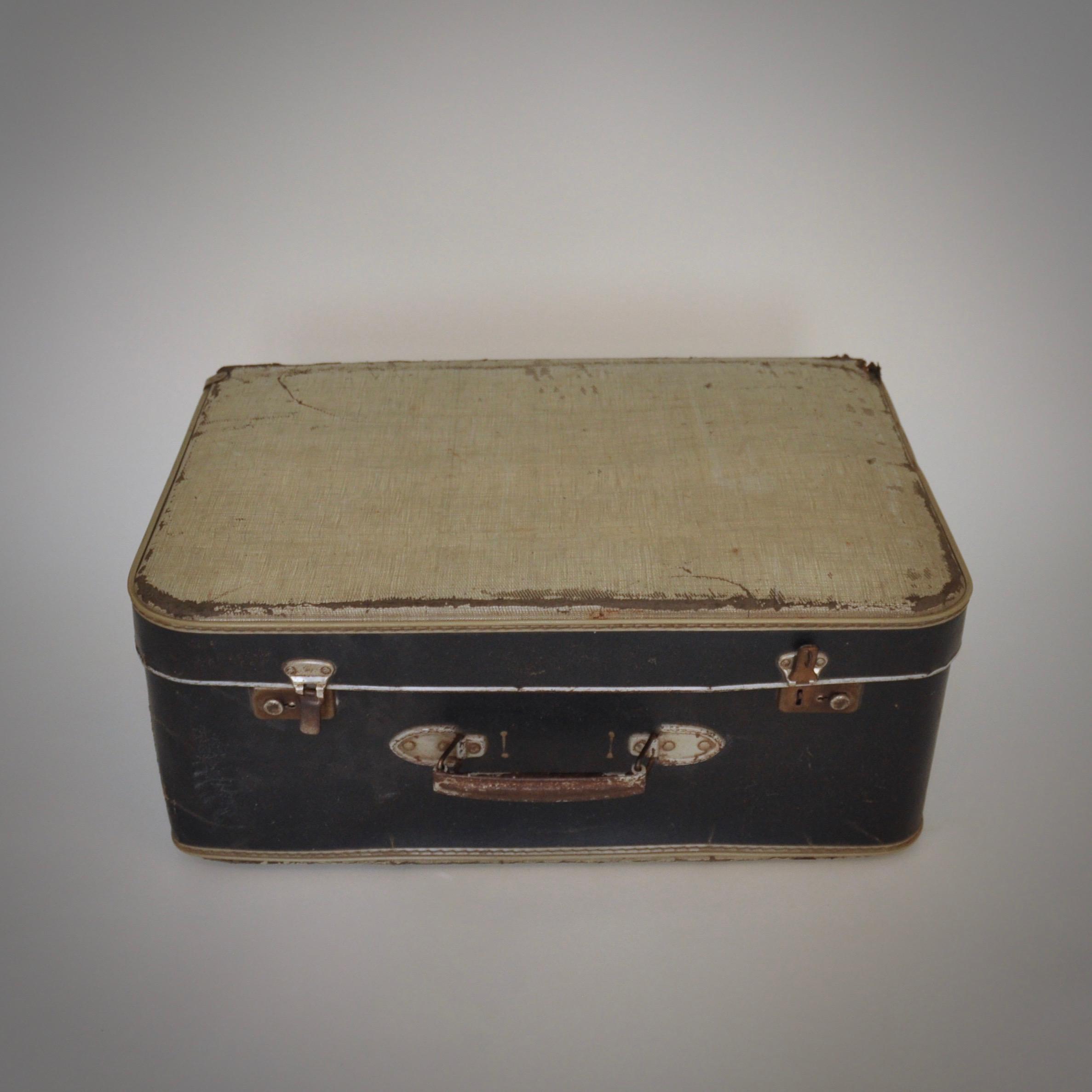 Vintage koffer met levenservaring