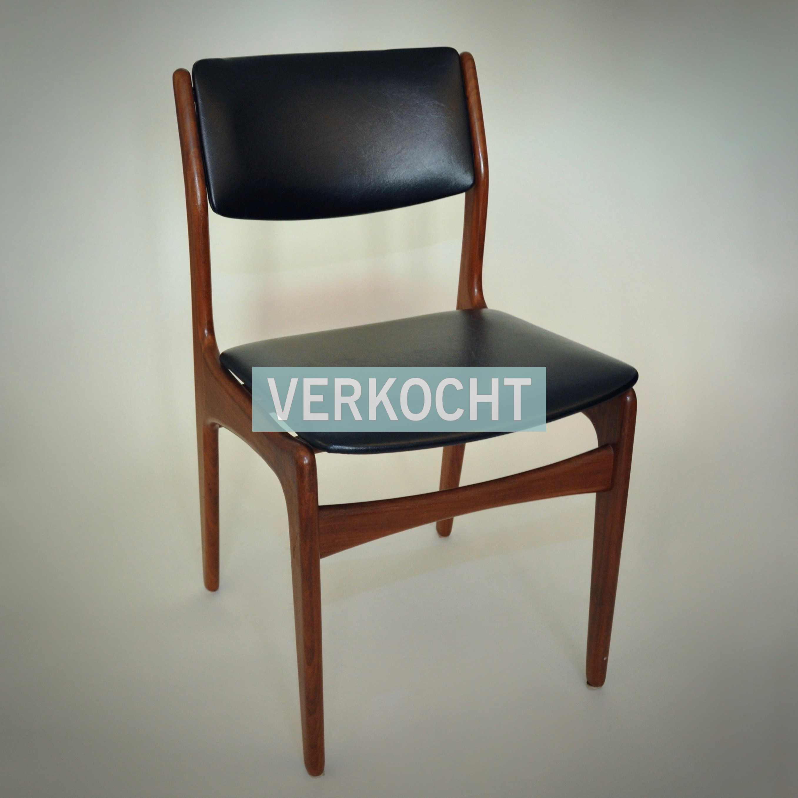 Vintage Webe stoel eetkamerstoel