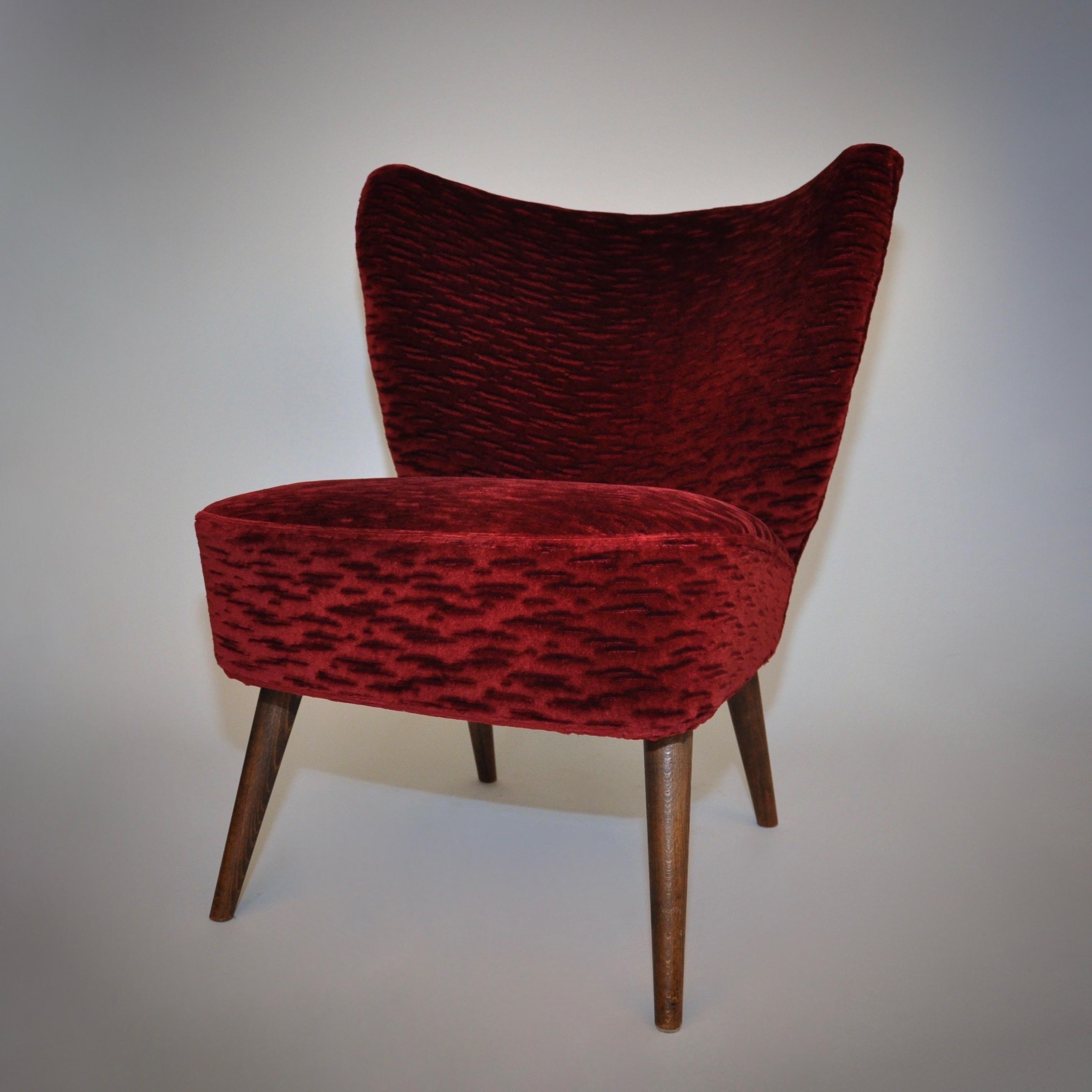 Vintage cocktailstoel in mannelijke variant
