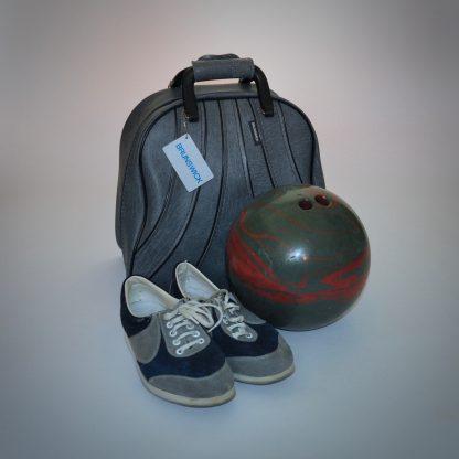 Vintage Brunswick bowlingtas