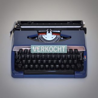 Vendex 500 Vintage Typemachine Blauw