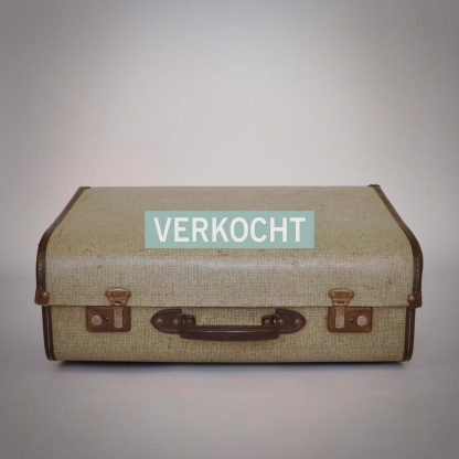 Unieke koffer voor liefhebbers van vintage retro brocante landelijk bohemien botanisch interieur