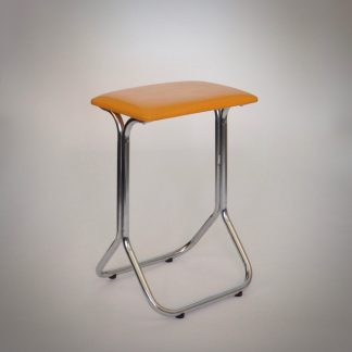 Midcentury tabouret tubular stool