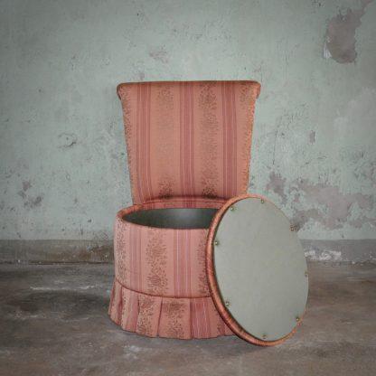 Midcentury boudoir chair