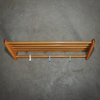 Midcentury pan rack shelving