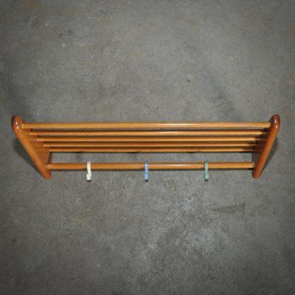 Midcentury pan rack shelving