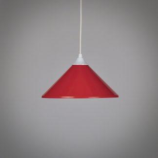 Vintage Hanglamp Rood
