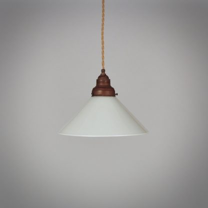 Vintage Hanglamp Opaline